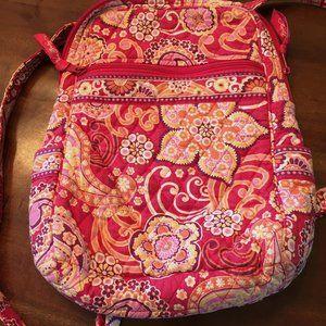 Vintage Vera Bradley Backpack Pink Paisley Floral